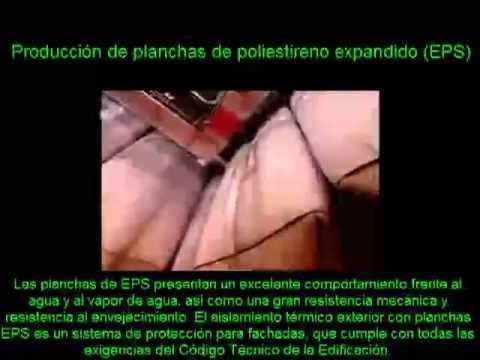 Planchas de poliestireno expandido espesores