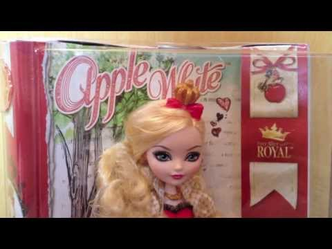 Ever After High - Review Apple White (PT-BR)