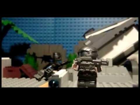 LEGO-Halo 3 ODST Covenant Skirmish