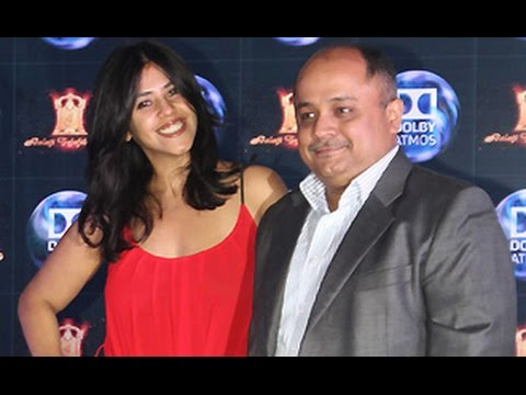 Ekta Kapoor at Balaji Motion Pictures & Dolby Atmos Tie-up Announcement