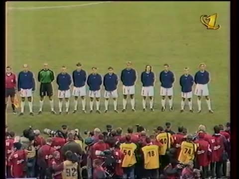 Russia vs Ukraine 1999 - Russia Anthem