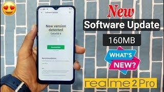 New Software Version Update Received (Latest Patch) in RealMe 2 Pro
