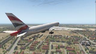 Boeing 777 Crash at Heathrow - British Airways Flight 38 - XP11