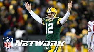 Aaron Rodgers the Greatest Passer of All Time? | Inside the NFL