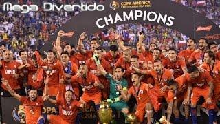 Reacciones Copa America Centenario 2016 Chile Bicampeón Conchetumare!!