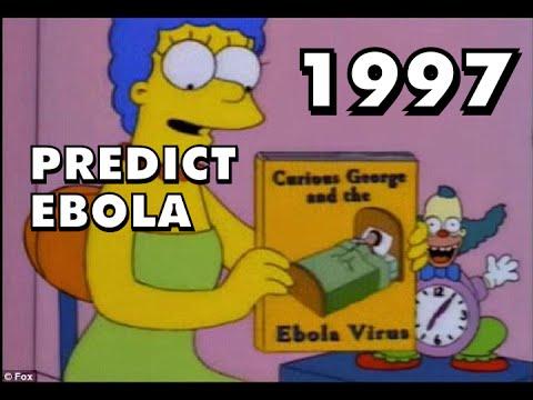 Breaking The Simpsons Predict Ebola Virus