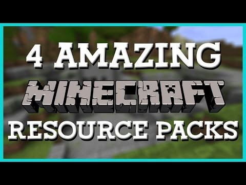4 Amazing Resource Packs   Minecraft 1.8   Texture Pack Review