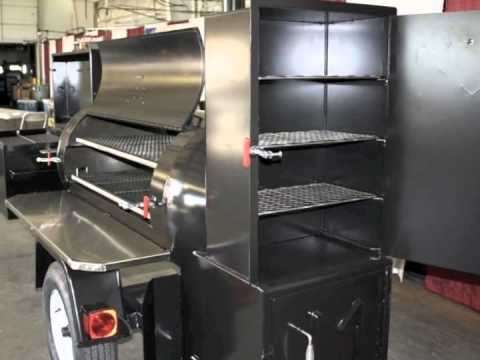 Meadow Creek TS250 Smoker Trailer (Plus Some Sweet Options)