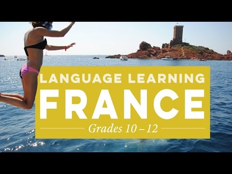 Summer Language Program in France for High School Students