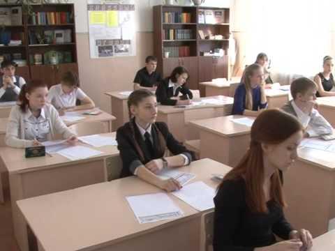 Дубль №1: 9-ти классники сдали пробный экзамен по математике