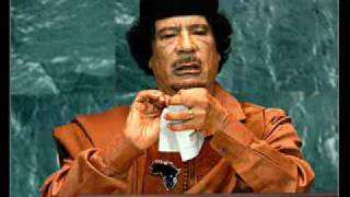 Kadhafi tosses , Rips and Cut Charter of the United Nations 23 Sep 2009