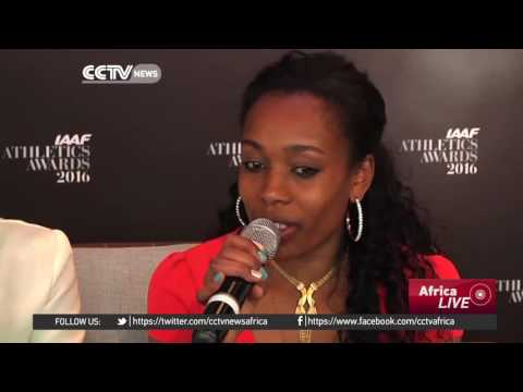 Almaz Ayana, Genzebe Dibaba CCTV interview On Their Plans For 2017 Ethiopian World Record Holders in