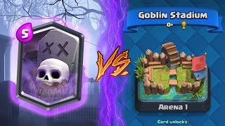 Clash Royale | GRAVEYARD TROLLING ARENA 1! | *FUNNY MOMENTS* (Drop Trolling #25)