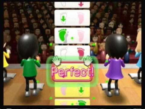 Wii fit plus - Advanced Step