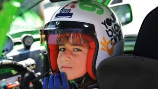 The Youngest Drifter In The World(10 years old), Stavros Grillis- Full English story
