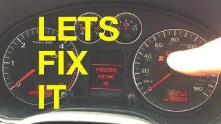 Audi A3 Airbag fix
