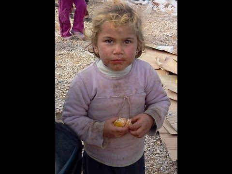 A SYRIAN CAMP IN THE BEKAA VALLEY, LEBANON - A SEA OF HUMAN TRAGEDY, MISERY, AND LOST CHILDHOOD