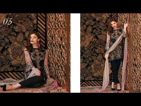 Charizma Chimmer 2018 Embroidered Collection Vol 01