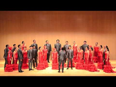 Infinito Singers of Indonesia sing Twa Tanbou