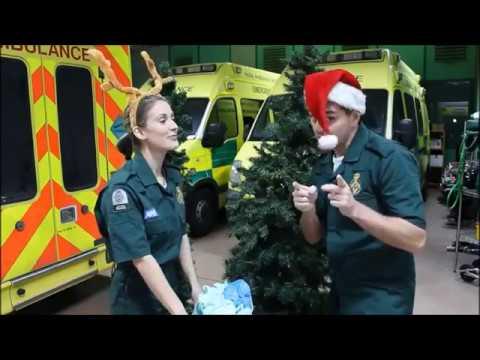 Casualty Christmas Challenge (Charlotte Salt and Michael Stevenson)