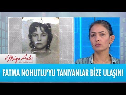 """""""Sevda"""" olarak bilinen Fatma Nohutlu'yu tanıyanlar bizi arayın - Müge Anlı İle Tatlı Sert 11 Aralık"""