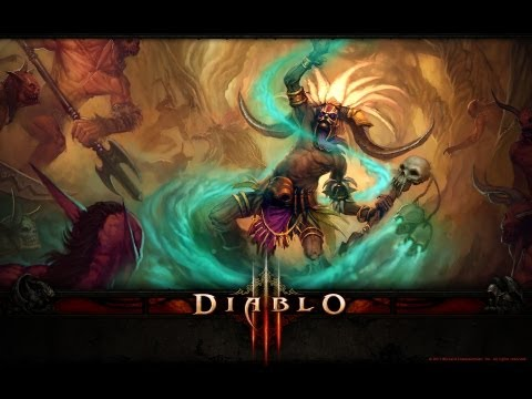 Diablo III gameplay Witch Doctor PARAGON [very good experience rotation and build]