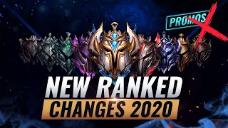 HUGE UPDATE: NEW RANKED CHANGES 2020: Promos Gone? - League of Legends Season 10