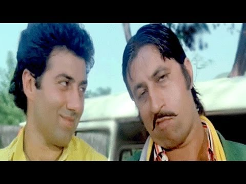 Sunny Deol, Shakti Kapoor, Danny, Paap Ki Duniya - Scene 7/16