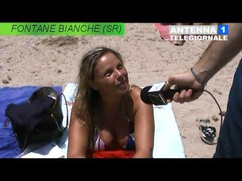 interviste nella spiaggia di fontane bianche (sr) 17.07.2011