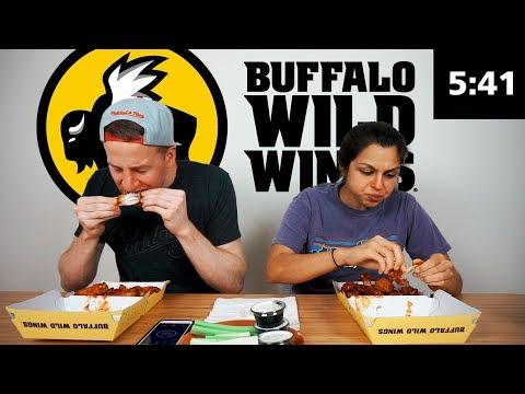 Buffalo Wild Wings Blazing Wings Challenge!