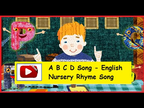 Abc Song With English Subtitles - Nursery Rhymes video