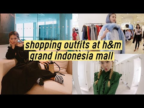 Shopping Outfits at H&M Flagship Store (Grand Indonesia Mall) | Q2HAN