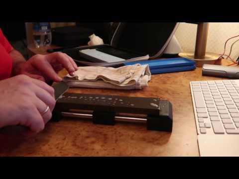 Правка ножа из Р6М5