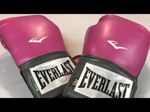 Everlast Prostyle műbőr boxkesztyű, rózsaszín termékbemutató videó