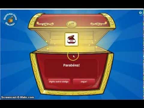 destravando 1000 moedas con códigos livres do club penguin