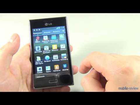 Обзор LG Optimus L5 (E610)