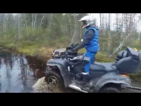Видео на квадроцикле на рыбалку видео