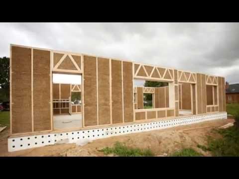 Как построить дом из камыша