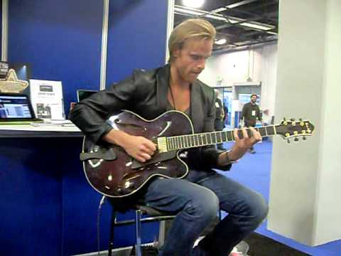 Andreas Oberg at NAMM - Jan 14, 2011 in Anaheim, CA