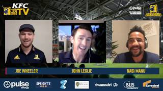 Landers Lounge - Episode 5 with guests John Leslie and Nasi Manu