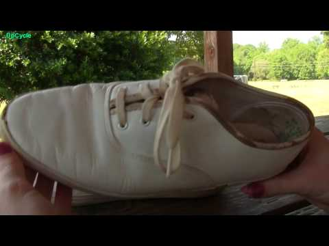 Upcycle: Jasmine's outdoor Keds