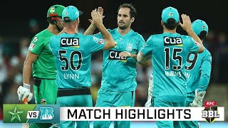 Heat on a hot streak, down Stars for third win on the trot | KFC BBL|10