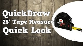 QuickDraw Precision Measuring Self Marking 25