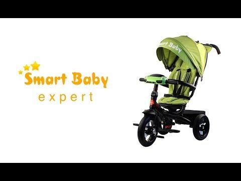 Трехколесный велосипед Smart Baby Expert