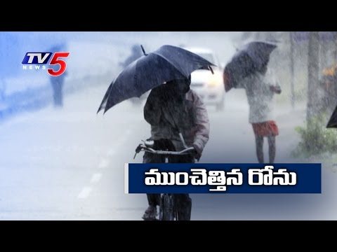 Cyclone Roanu Intensifies | Roanu Ravages in Costal Districts | TV5 News