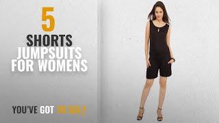 Top 10 Shorts Jumpsuits For Womens [2018]: Cottinfab Women Short Jumpsuit
