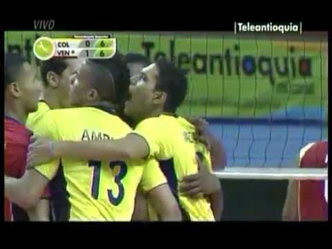 Premundial Voleibol 2013 Colombia vs Venezuela