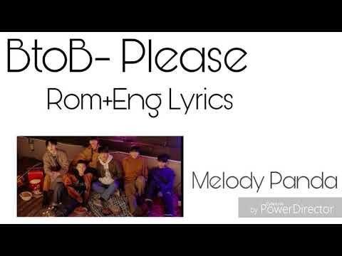 BtoB- Climax/Please Rom+Eng Lyrics (Color Coded)