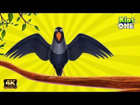 Chettu Meeda Kaki Pilla  || Crow Rhymes  || Animated Birds Rhymes video