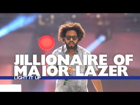 Jillionaire of Major Lazer - 'Light It Up' (Live At The Summertime Ball 2016)